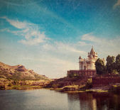 Jaswanth Thada mausoleum, Jodhpur, Rajasthan, India — Stock Photo