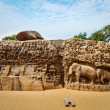 Descent of the Ganges and Arjuna's Penance, Mahabalipuram — Stock Photo #44920103