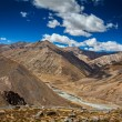 Manali-Leh road — Stock Photo