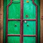Wooden old door vintage background — Stock Photo #44921097