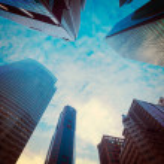 Urban buildings — Stock Photo #44921477