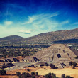 Постер, плакат: Pyramid of the Moon Teotihuacan Mexico