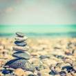 Zen balanced stones stack — Stock Photo #44921789