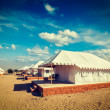 Постер, плакат: Luxury tent camp India