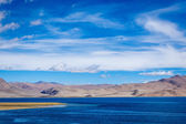 Tso Moriri lake in Himalayas, Ladakh, India — Stock Photo