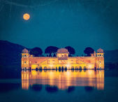 Jal Mahal palace.  Jaipur, Rajasthan, India — Stock Photo