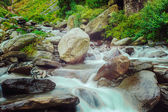 Bhagsu waterfall. Bhagsu, Himachal Pradesh, India — Stock Photo
