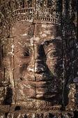 Face of Bayon temple, Angkor, Cambodia — Stock Photo