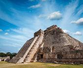 Mayan pyramid in Uxmal, Mexico — Stock Photo