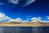Lake Tso Moriri, Ladakh — Stock Photo