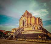 Wat Chedi Luang. Chiang Mai, Thailand — Stock Photo