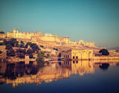 Amer (Amber) fort, Rajasthan, India — Stock Photo