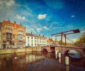 Brugia (brugge), belgia — Zdjęcie stockowe