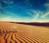 Dunas del desierto de thar, rajasthan, india — Foto de Stock