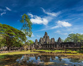 Bayon temple, Angkor Thom, Cambodia — Stock Photo
