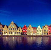 European town. Bruges (Brugge), Belgium — Stock Photo