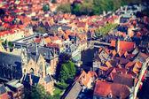 Aerial view of Bruges (Brugge), Belgium.  — Stock Photo