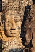 Faces of Bayon temple, Angkor, Cambodia — Stock Photo