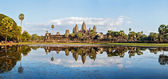 Panorama of Angkor Wat — Stock Photo