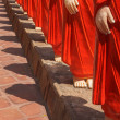 500 statues of Buddhist monks (Arahants) in Nellikulama Temple — Stock Photo #45096013