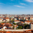 Aerial view of Prague from Prague Castle — Stock Photo #45096419