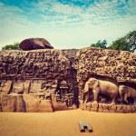 Descent of the Ganges and Arjuna's Penance, Mahabalipuram — Stock Photo #45097345
