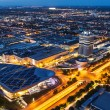 ������, ������: Aerial view of BMW Museum and BWM Welt and Munich