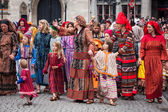 Procession of the Holy Blood on Ascension Day in Bruges (Brugge) — Stock Photo