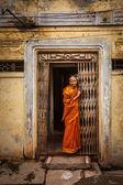 Unidentified India woman — Stock Photo