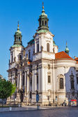 St. Nicholas church at Old Town Square, Prague — Stock Photo