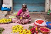 Mujer india no identificada — Foto de Stock
