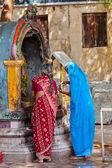 Unidentified Indian women — Stock Photo