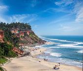 Varkala beach, Kerala, India — Stock Photo
