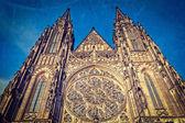 St. vitus catherdal, praag — Stockfoto