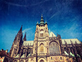 St. Vitus Catherdal, Prague — Stock Photo