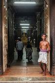 Unidentified Indian brahmin — Stock Photo