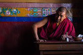 Tibetan Buddhist monk  — Stock Photo