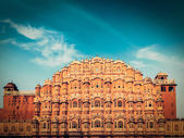Hawa Mahal (Palace of the Winds), Jaipur, Rajasthan — Stock Photo