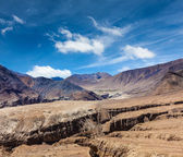Himalayas near  Kardung La pass. Ladakh, India — Stock Photo