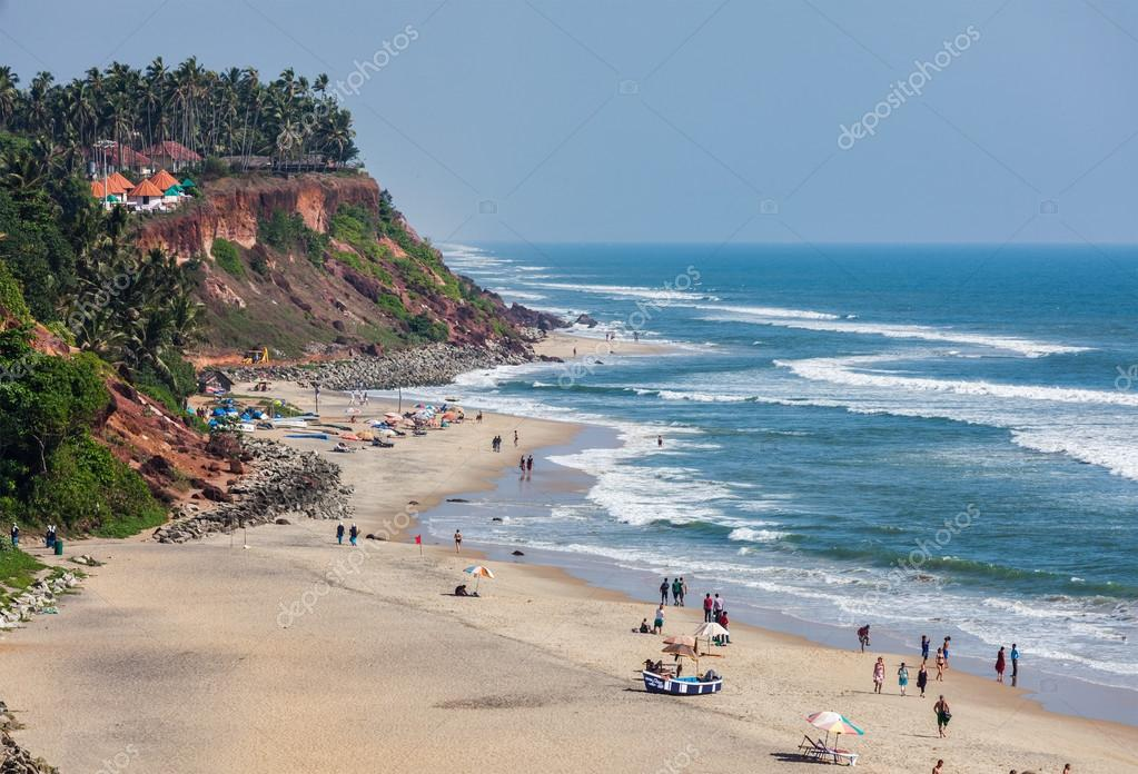 Varkala India  city images : ... india playa de varkala, kerala, india — Foto de DmitryRukhlenko
