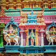 Sculptures on Hindu temple tower — Stock Photo #45274727