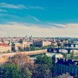 Panoramic view of Prague bridges — Stock Photo #49562639