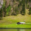 Obersee lake. Bavaria, Germany — Stock Photo #49562803