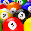 Set of billiard pool balls — Stock Photo #49563107