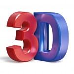 3D text — Stock Photo
