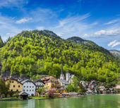 Hallstatt village, Austria — Stock Photo