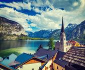Hallstatt village, Austria — Stock Photo