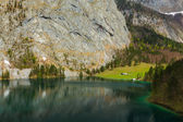 Obersee lake. Bavaria, Germany — Stock Photo
