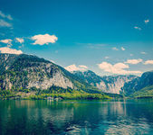Castle at Hallstatter See in Austria — Stock Photo