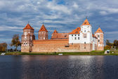 Mir castle in Belarus — Foto Stock